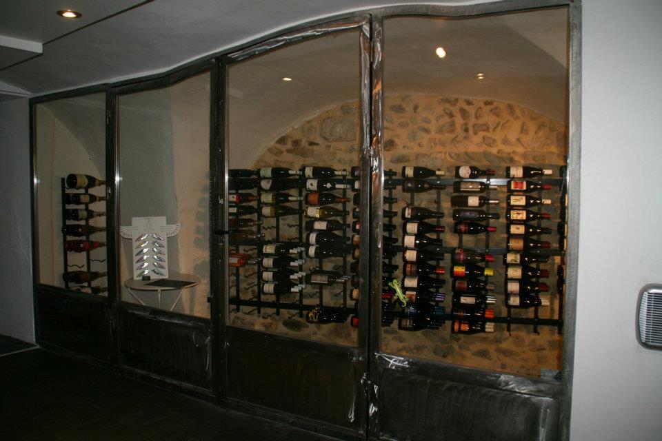 Nouvelle cave dans un restaurant Montélimar