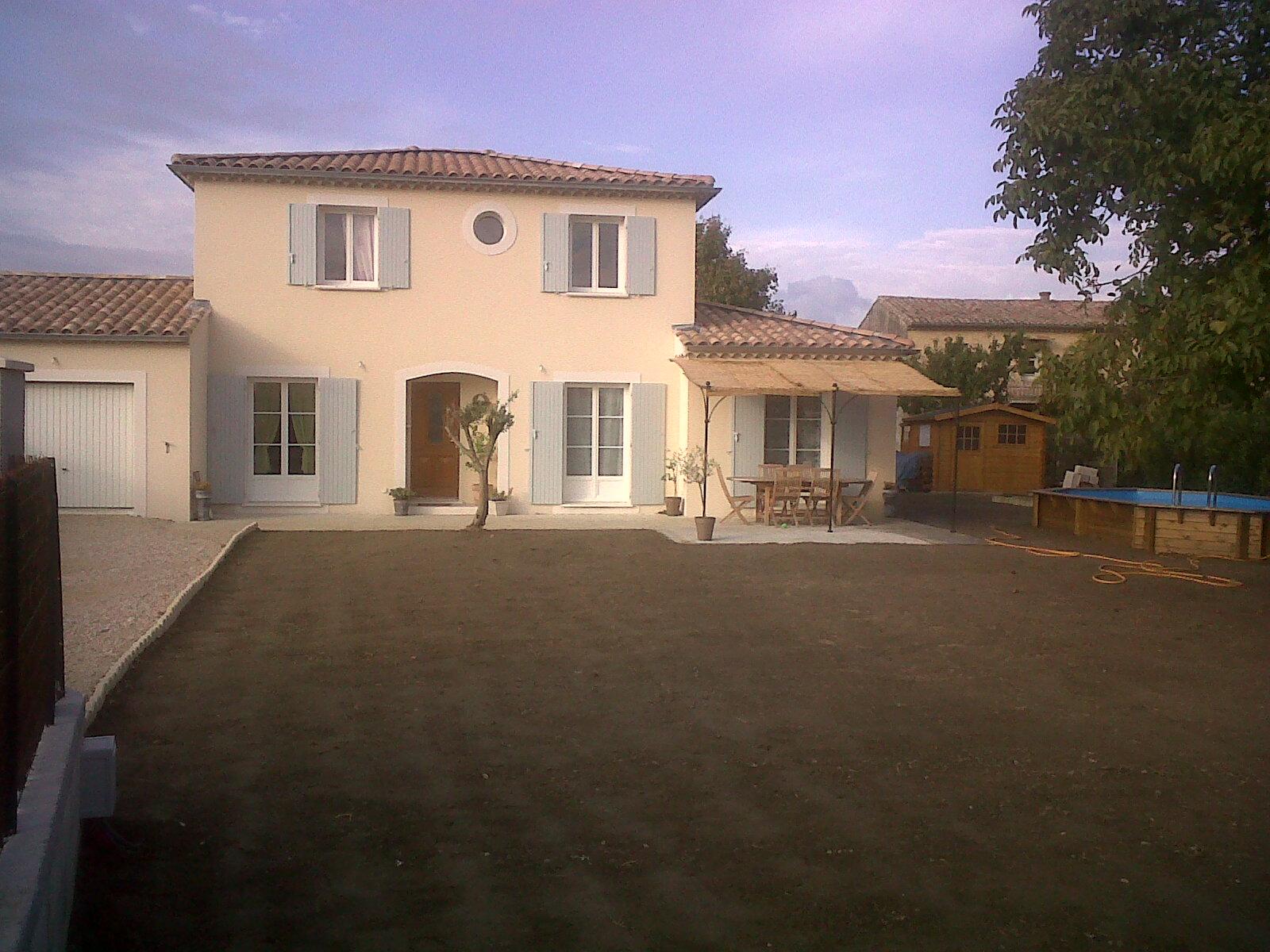 villa neuve Mas Provençale Ancône