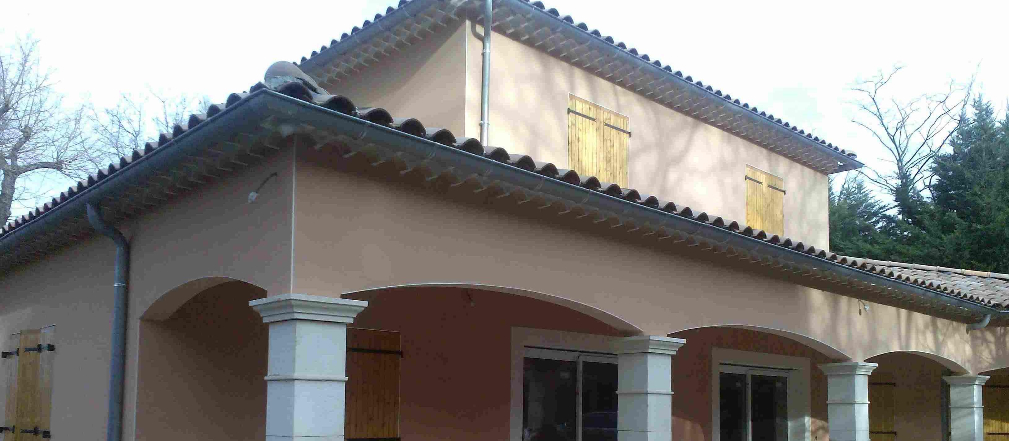 villa neuve 160 m² région Montélimar