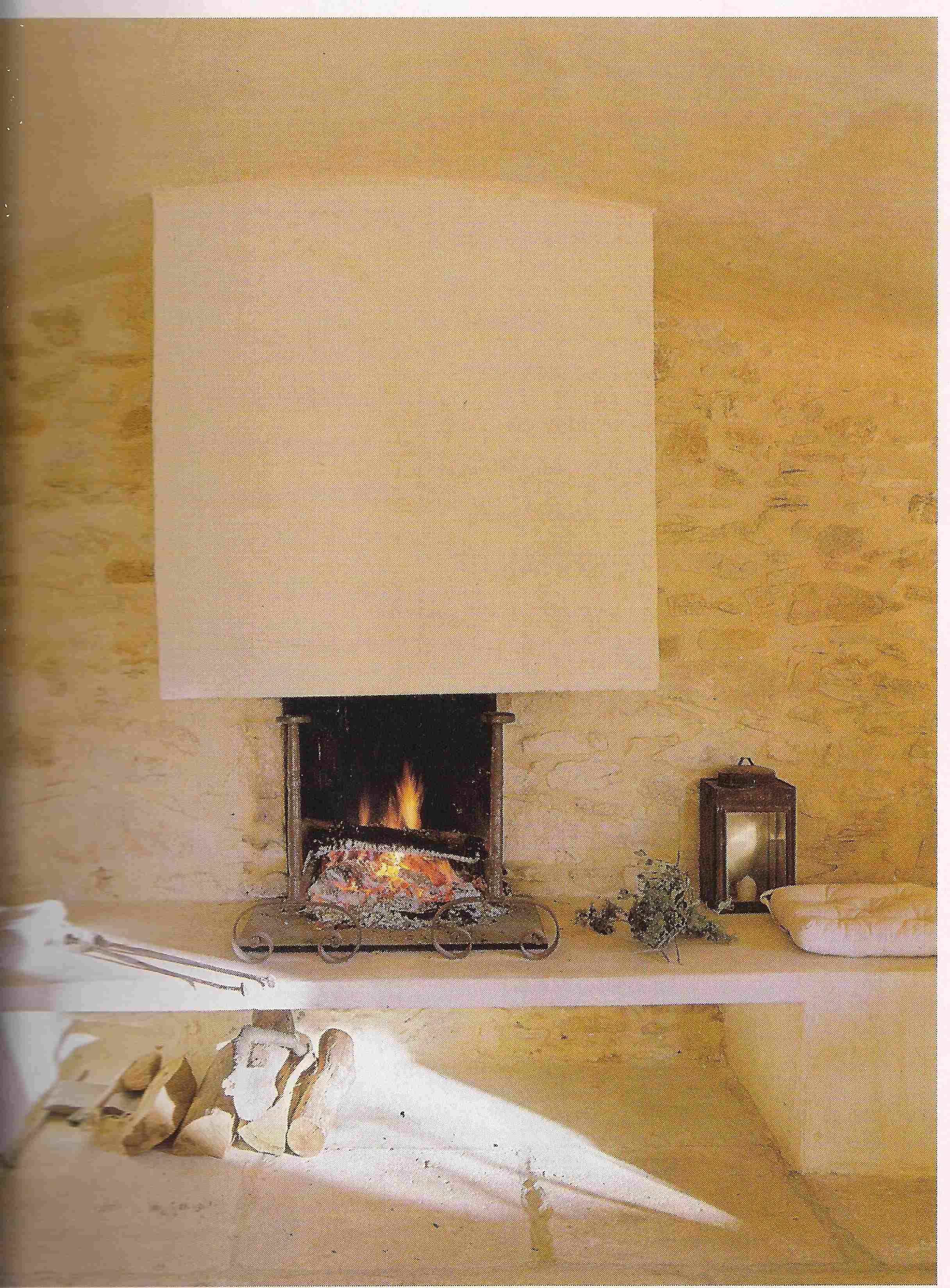 cheminée gîte Vaucluse